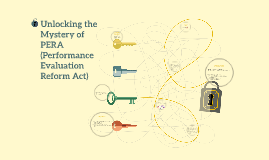 Unlocking the Mystery of PERA (Performance Evaluation Reform