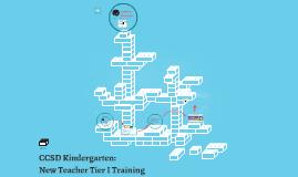 CCSD Kinder & 1st Grade New Teacher Training