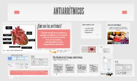 Copy of antiarritmicos