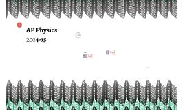 AP Physics 2014-2015