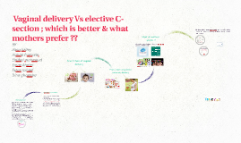 Copy of Vginal delivery Vs elective C-section
