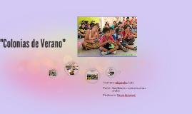 """Copia de """"Colonias de Verano"""""""