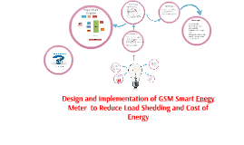 Copy of Design  And Study of  a GSM Smart Enegy Meter  to Reduce Loa