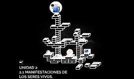 Copy of UNIDAD 2 MANIFESTACIONES DE LOS SERES VIVOS.