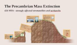 The Precambrian Mass Extinction