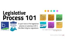 Copy of Copy of Legislative Process 101 by the WVML