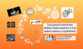 Mapa Conceptual tema 14 y 15: Ley contra delitos informaticos y Ley sobre armas y explosiv