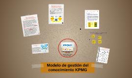 Modelo de gestión de conocimiento KPMG para la empresa Inter