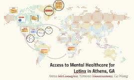 Access to Mental Healthcare for Latinx
