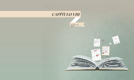 CAPITÚLO VIII