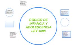 CODIGO DE INFANCIA Y ADOLESCENCIA
