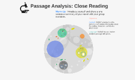Sci-F Passage Analysis: Close Reading
