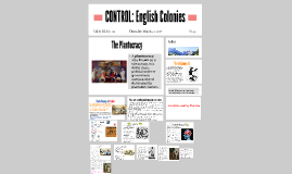 CONTROL: English Colonies