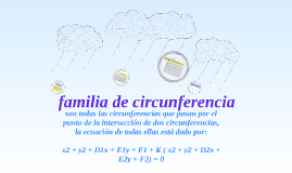 Copy of familia de circunferencia