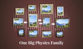 One Big Physics Family