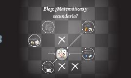 Blog de Matemáticas