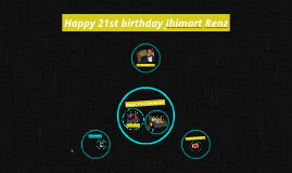 Happy 21st birthday Jhimart Renz