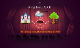King Lear: Act II