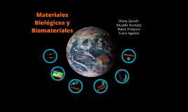 Copy of Biomateriales - Nuevos Materiales