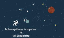 Antiferromagnetismo y el ferrimagnetismo