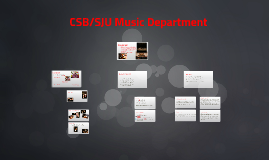CSB/SJU Music Department