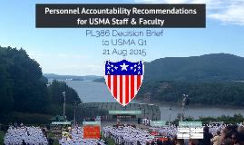 USMA Personnel Accountability