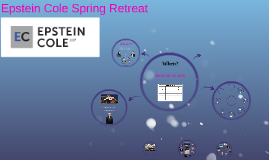 Epstein Cole Spring Retreat