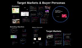 USW Target Audiences & Object Setting