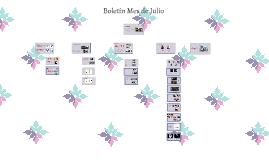 Boletín Mes de Julio