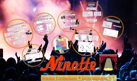 Ninotte Productions & Entertainment S. L. Parte II