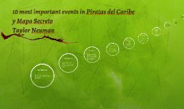 10 most important events in Piratas del Caribe y Mapa Secret