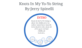knots in my yo yo string essay Find all available study guides and summaries for knots in my yo yo string by jerry spinelli if there is a sparknotes, shmoop, or cliff notes guide, we will have it listed here.