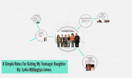 8 Simple Rules For Dating My Teenager Daughter