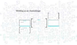 Writing as Assemblage
