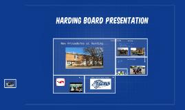 Harding Board Presentation