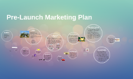 Pre-Launch Marketing Plan
