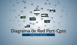 Diagrama de Red Pert-Cpm