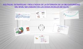 POLÍTICAS, ESTRATEGIAS Y RESULTADOS DE LA EXTENSIÓN DE LA OB