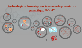 Technologie informatique et économie du pouvoir : un panopti