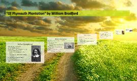 """Of Plymouth Plantation"" by William Bradford by Alyssa ..."