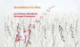 Sexualidad en la china
