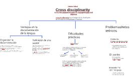 Cross disciplinarity