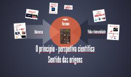 AELixa_As origens - perspetiva científica. Sentido das origens