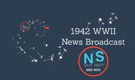 1942 WWII News Broadcast