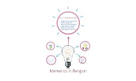 Memetics in Religion
