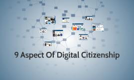 9 Aspect Of Digital Citizenship
