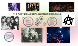 The Most Influential Women In Rock Music