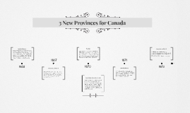3 New Provinces for Canada