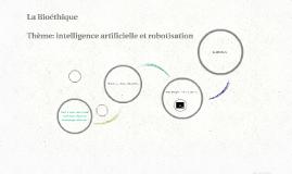 Intelligence artificielle et