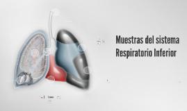 Toma de muestra aparato respiratorio inferior